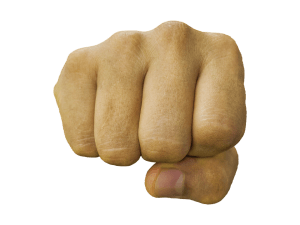 fist punching