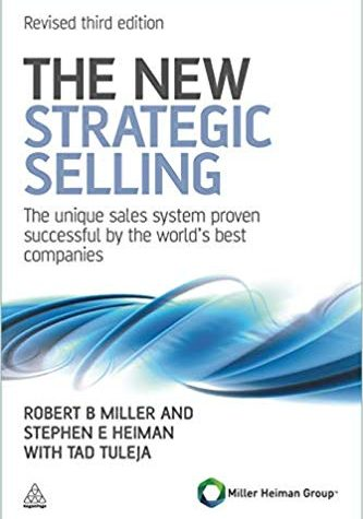 New Strategic Selling Book Cover